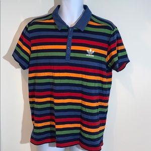Adidas Striped Shirt L